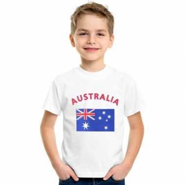 Australische vlaggen t-shirts kinderen