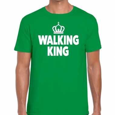 Avondvierdaagse shirt walking queen groen heren