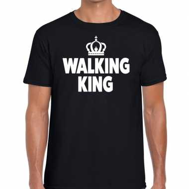 Avondvierdaagse shirt walking queen zwart heren