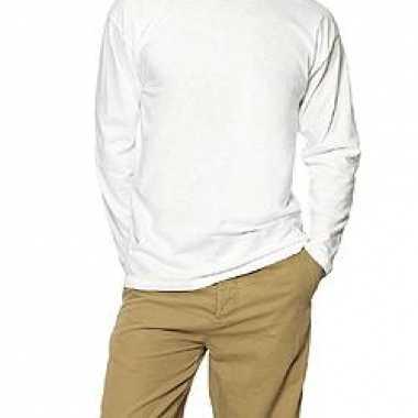 B&C T-shirt lange mouwen