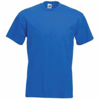 Blauwe t shirts korte mouwen heren