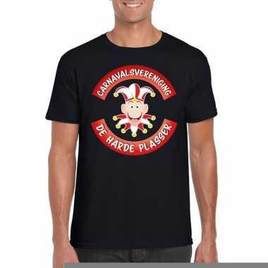 Carnavalsvereniging harde plasser brabant heren t shirt zwart