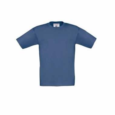 Denim blauw t-shirt kinderen