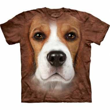 Dieren shirts beagle hond volwassenen