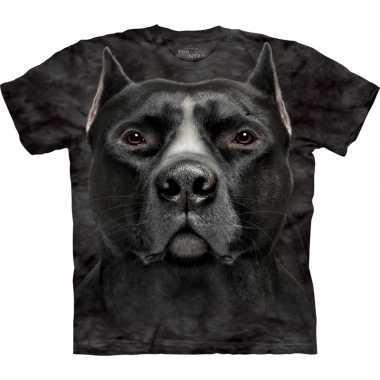 Dieren shirts pitbull hond volwassenen