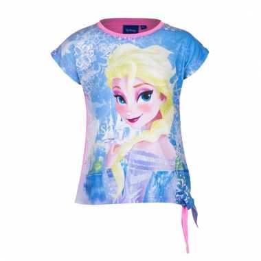 Frozen t-shirt roze meisjes