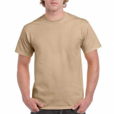 Goedkope gekleurde shirts camel volwassenen