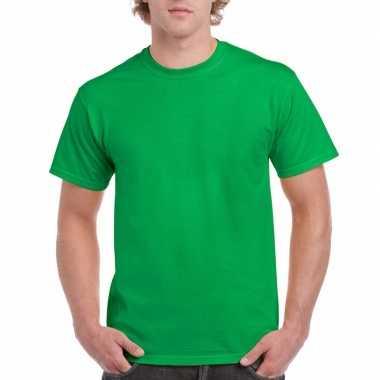 Goedkope gekleurde shirts ierland groen volwassenen