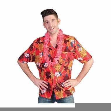 Hawaii shirt tropische print