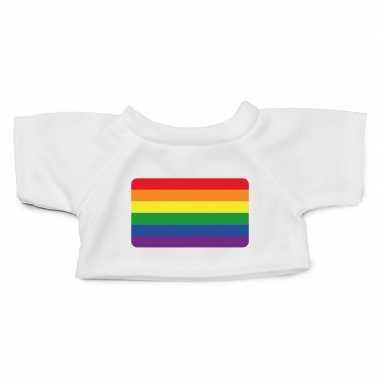 Knuffel kleding gaypride vlag shirt xl clothies knuffel