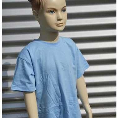 Lichtblauw t-shirt kinderen