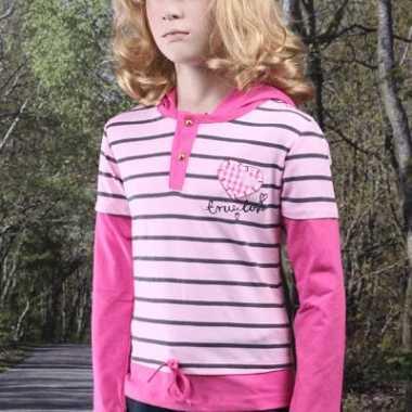 Meisjes shirt lange mouwen