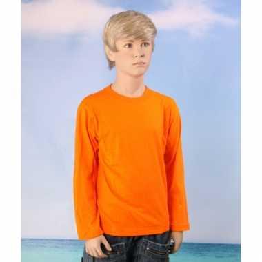 Oranje shirt kinderen