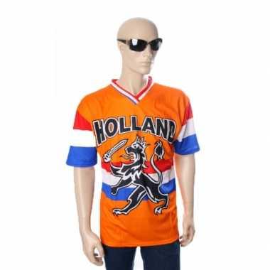 Oranje t-shirt hollandse leeuw hollandse vlag