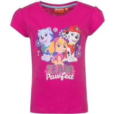 Paw patrol skye marshall everest-shirt roze
