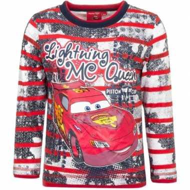 Rood shirt mc queen cars