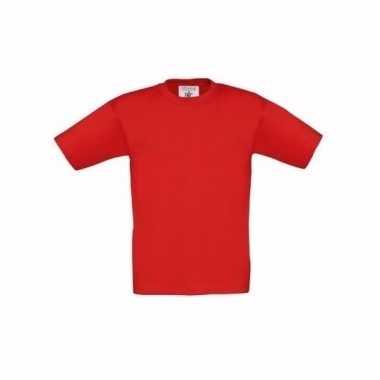 Rood t-shirt kinderen