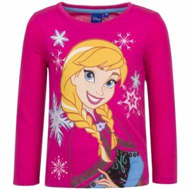 Roze shirt anna frozen