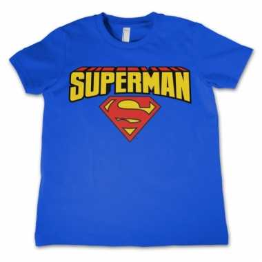 Superman kleding kinder t-shirt