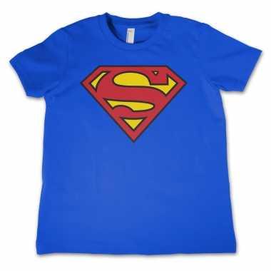 Superman logo t-shirt jongens meisjes