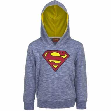 Superman t-shirt blauwe mouw