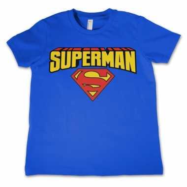 Superman t-shirt jongens meisjes