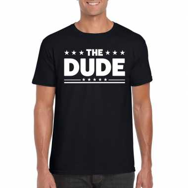 The dude heren t shirt zwart