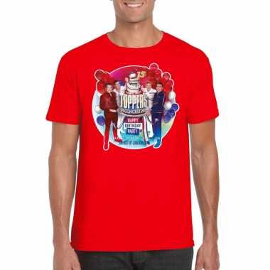 Toppers rood toppers concert 2019 officieel t shirt heren