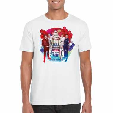Toppers wit toppers concert 2019 officieel t shirt heren