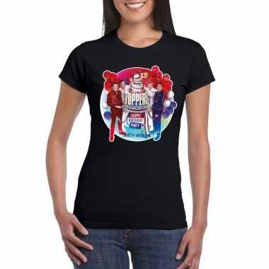 Toppers zwart toppers concert 2019 officieel t shirt dames