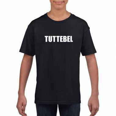 Tuttebel tekst t shirt zwart meisjes