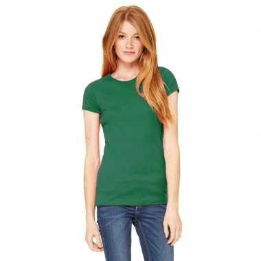 Voordelige groene dames shirt hanna