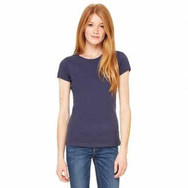 Voordelige navy blauwe dames shirt hanna