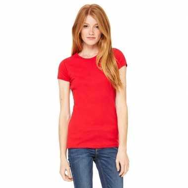 Voordelige rode dames shirt hanna