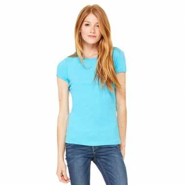 Voordelige turquoise dames shirt hanna