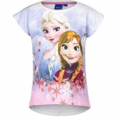 Wit-shirt frozen meisjes