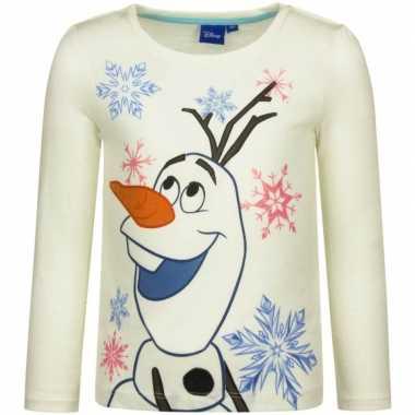 Wit-shirt olaf frozen