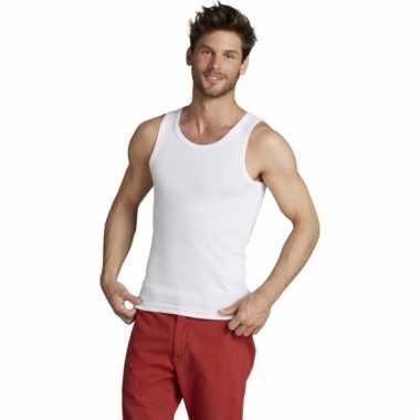 kwaliteitsproducten de beste nieuwe producten Witte mouwloze heren t-shirts