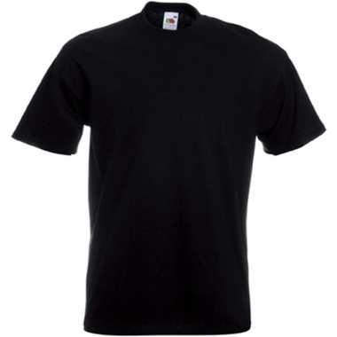 Zwarte t shirts korte mouwen heren