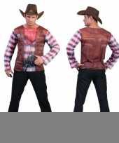 3d western shirt heren