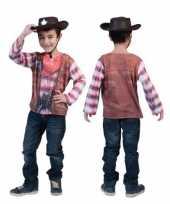 3d western shirt kinderen