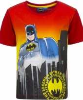 Batman t-shirt rode mouw