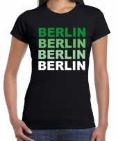Berlin berlijn t-shirt zwart dames