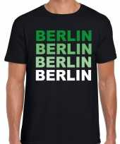 Berlin berlijn t-shirt zwart heren