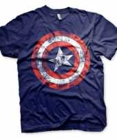 Captain america kleding heren t-shirt