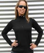 Craft thermo damesshirt zwart