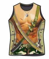 Funartikel t-shirt leger soldaat