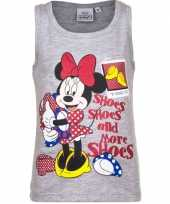 Grijs mouwloos minnie mouse shirt