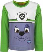 Groen shirt rocky paw patrol