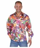 Hippie shirts heren fun